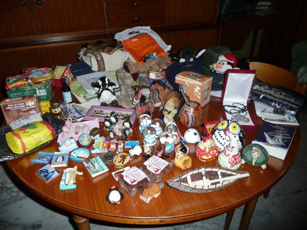 Alcuni souvenir dalla Terra del Fuoco