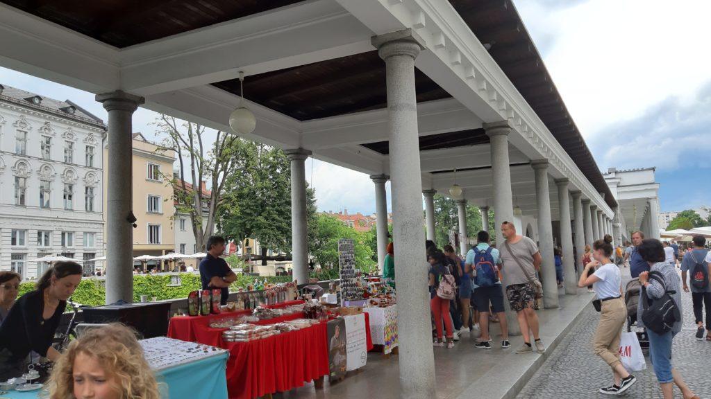 Lubiana mercato coperto