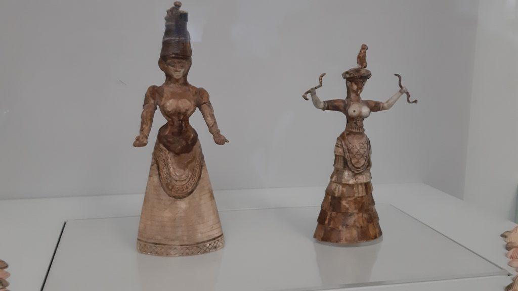 civiltà minoica statuine terracotta