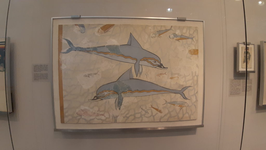 civiltà minoica affreschi