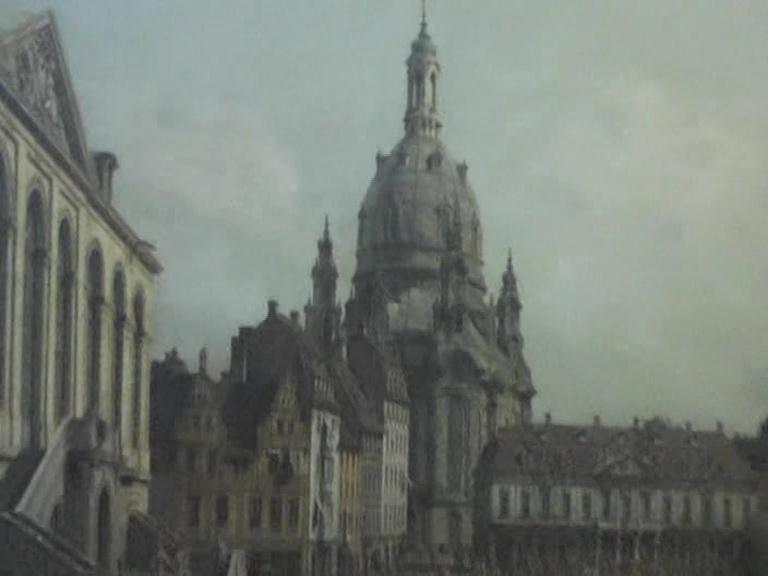 Dresden Canaletto veduta di Dresda