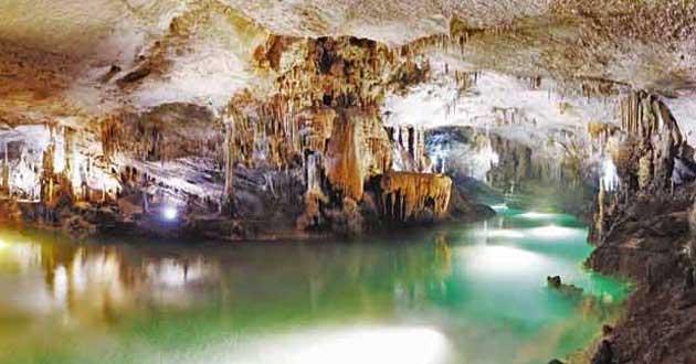 Libano grotte di Jeita