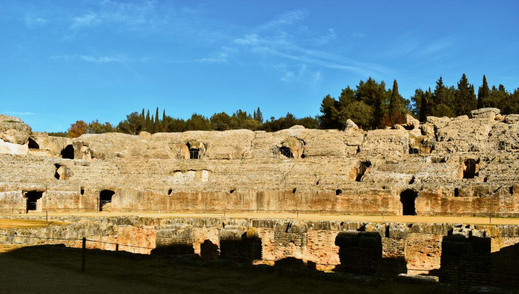 scavi romani vicino Siviglia Spagna