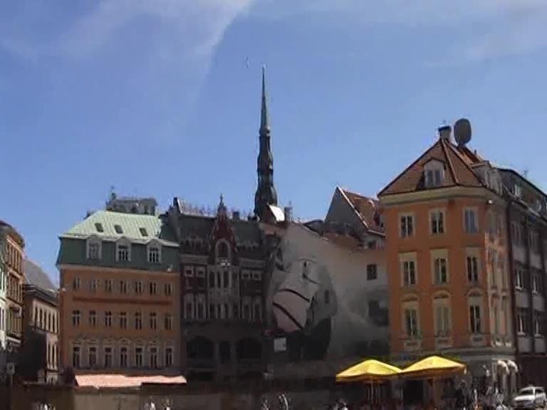 Riga città vecchia