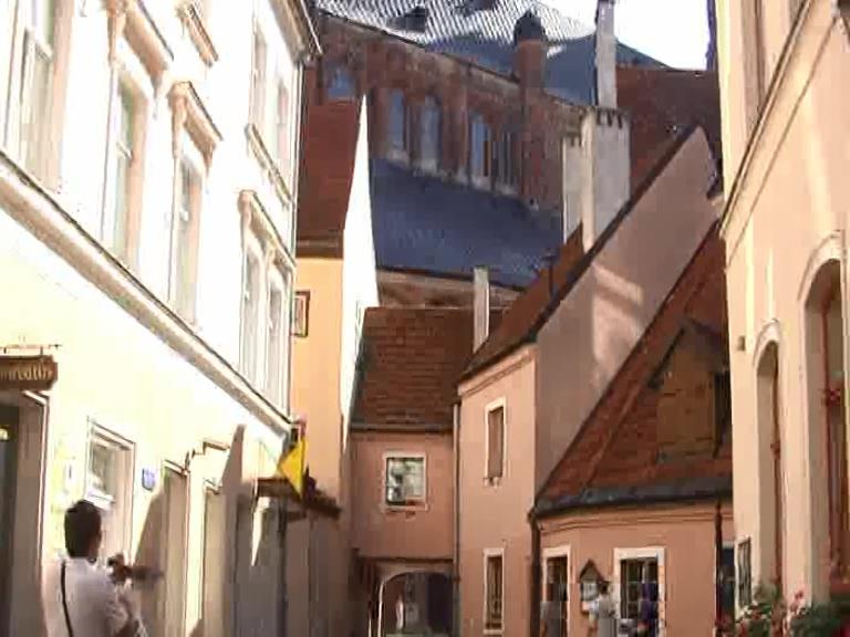 Riga cortile St.Iana