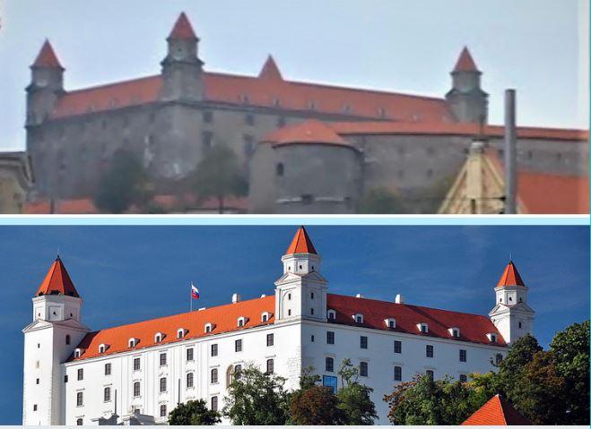 restauro castello bratislava